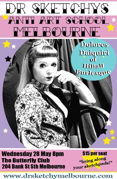 Dolores Daiquiri of Hiball Burlesque